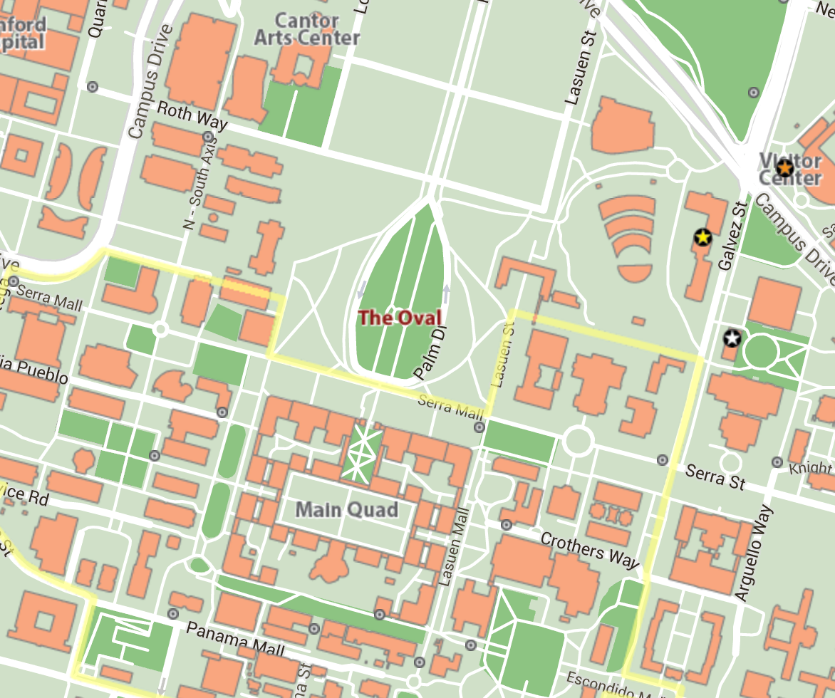 Tournament Campus Map (static)